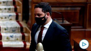 moción de censura Santiago Abascal