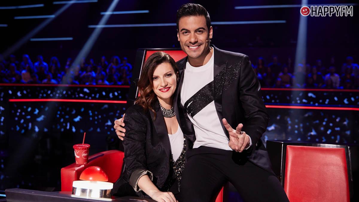 Carlos Rivera y Laura Pausini