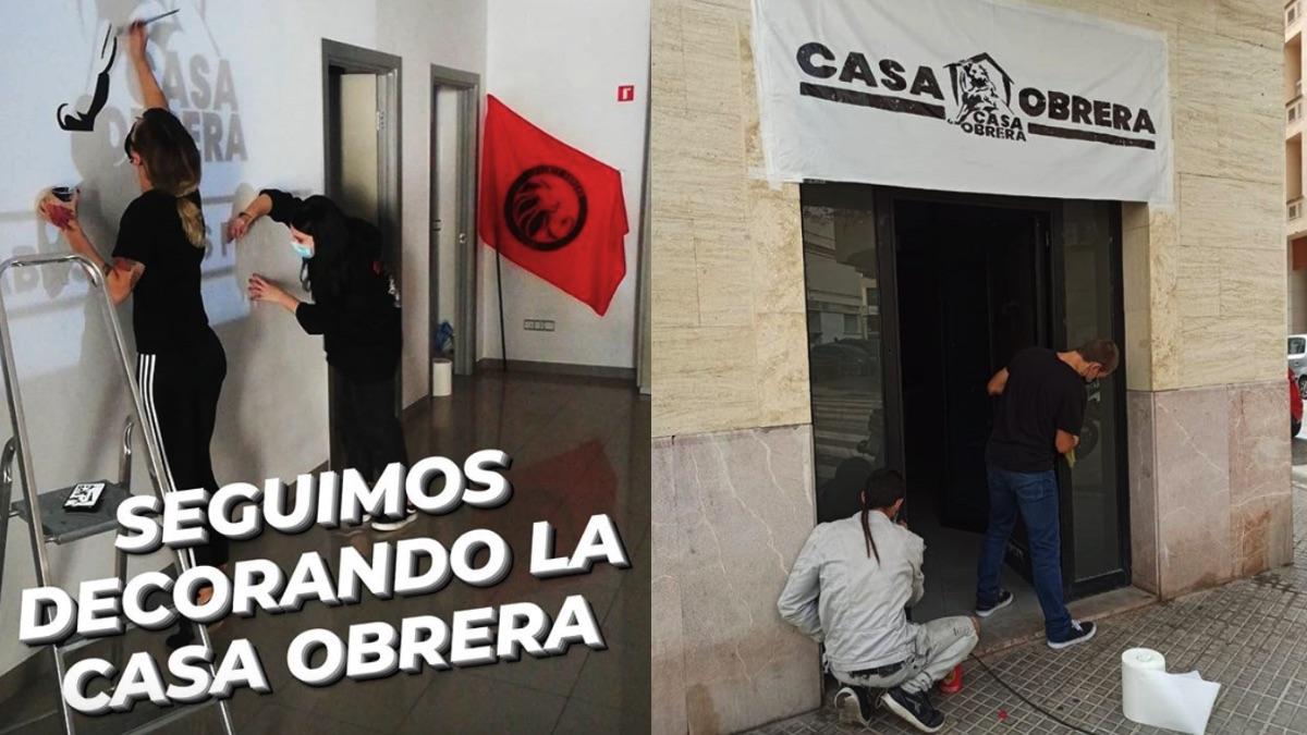 Centro okupa en Palma de Mallorca.
