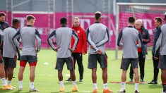 Entrenamiento del Bayern de Munich. (@FCBayern)