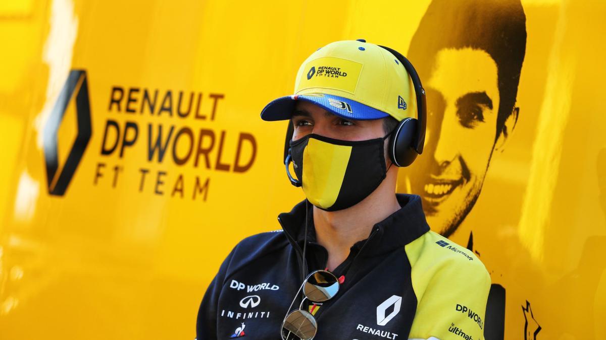 Esteban Ocon, piloto del equipo Renault. (@OconEsteban)
