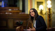 Inés Arrimadas en el Congreso. Foto: Europa Press