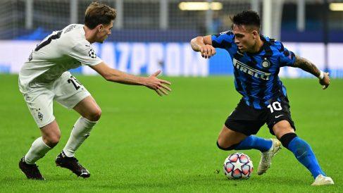 Inter y Borussia Mönchengaldbach enmpataron. (AFP)
