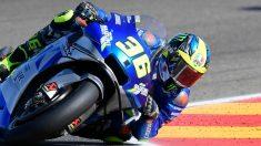 Joan Mir en el GP de Aragón de MotoGP. (AFP)