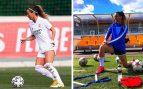 Así se pone en forma Asllani, la autora del primer gol en la historia del Real Madrid