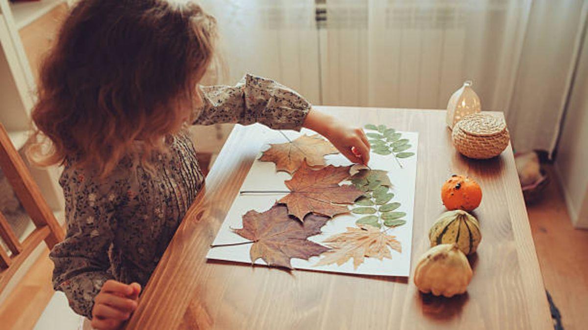 Aprovechemos Todos los Santos para hacer distintas manualidades con los niños