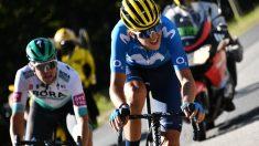 Marc Soler ganó su primera etapa en la Vuelta a España. (AFP)