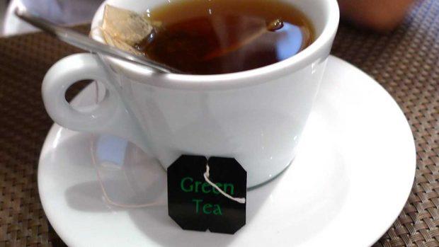 Cafeína del té