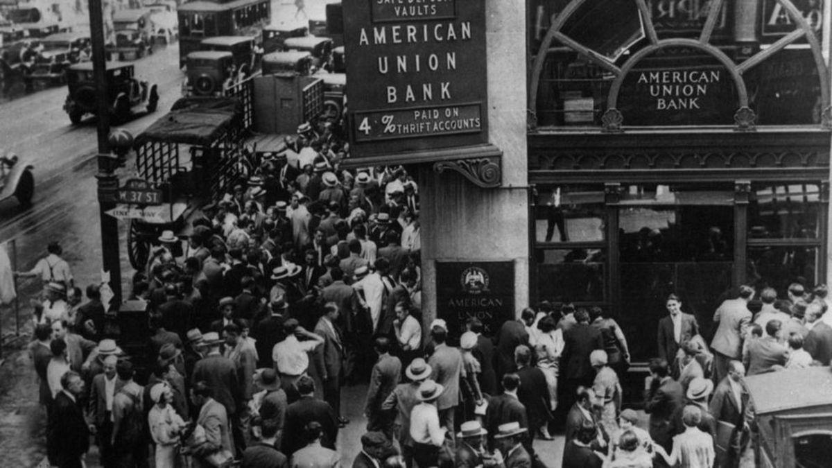 El 29 de octubre de 1929 se produjo el crack del 29