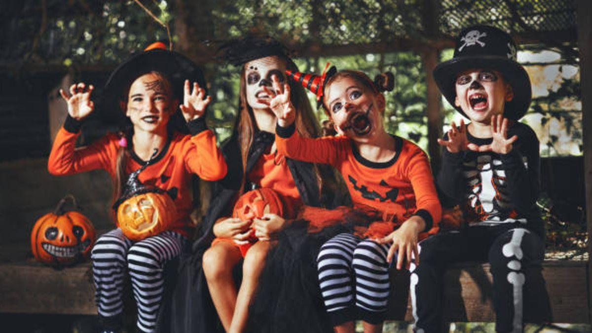 Cómo celebrar este Halloween con los niños