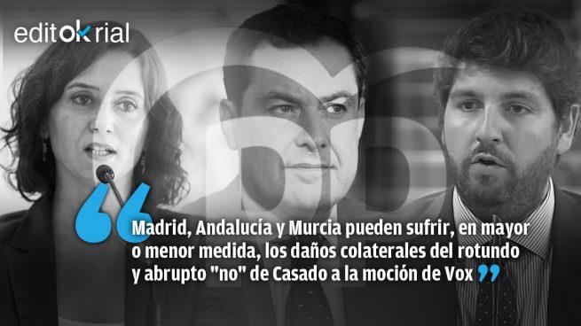 ¿Quiere Casado cargarse a Ayuso, Moreno y López Miras?
