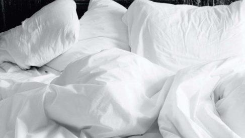 Las chinches se acumulan en la cama si no cambias las sábanas