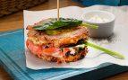 Receta de hamburguesa de patata y salmón