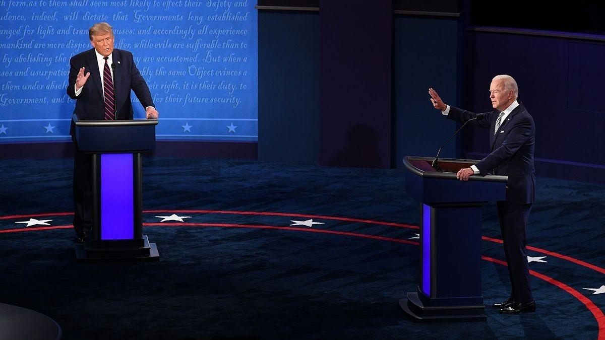 Debate Trump y Biden