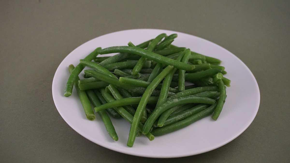 Judías verdes cocidas