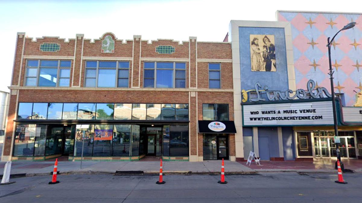 La nave en la que tenía su sede la empresa Printamtic Inc, en Cheyenne, en el Estado norteamericano de Wyoming.