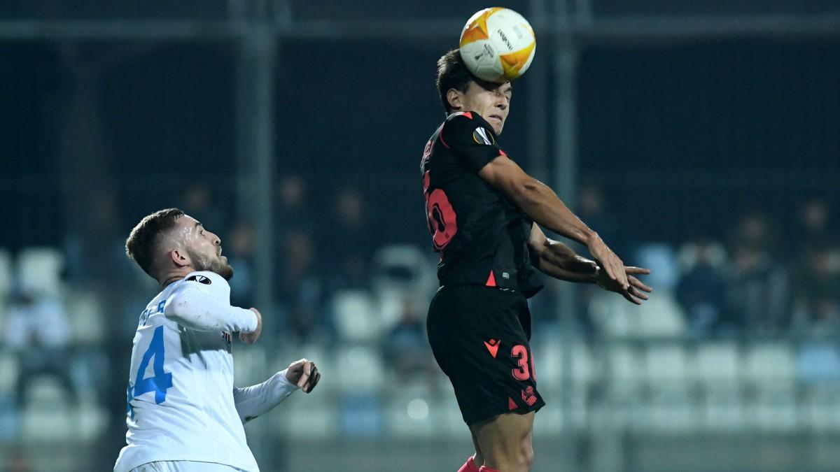 Rijeka y Real Sociedad empataron en Croacia. (AFP)