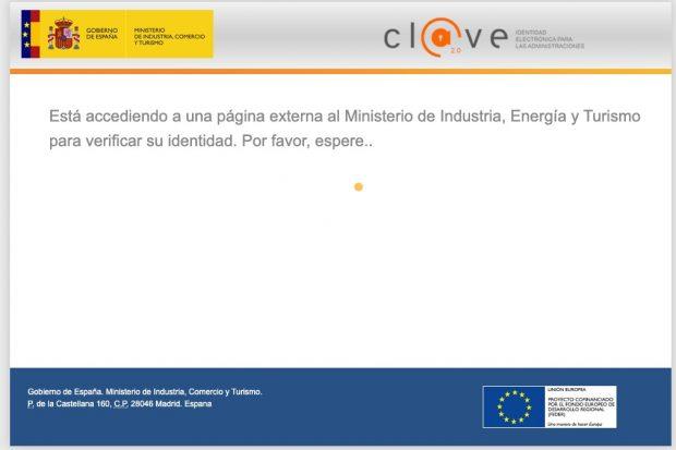 Página web Ministerio de Industria