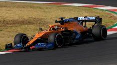Carlos Sainz durante los Libres 1 del Gran Premio de Portugal. (AFP)