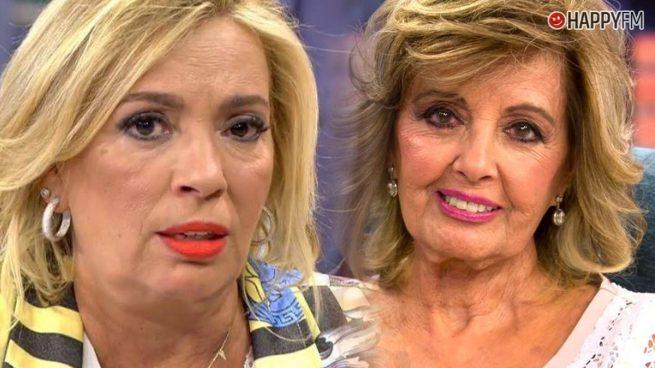 Carmen Borrego y María Teresa Campos