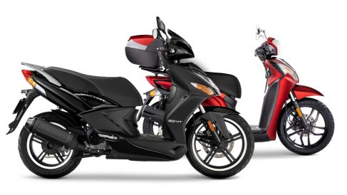 Modelos de moto Kymco.
