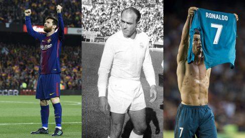 Máximos goleadores en la historia de los Clásicos (AFP y Getty)