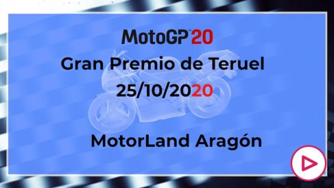 GP de Teruel de MotoGP 2020: Horario y cómo ver por televisión el Gran Premio de Teruel de MotoGP.