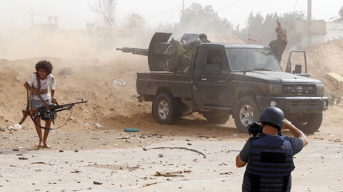 libia alto el fuego