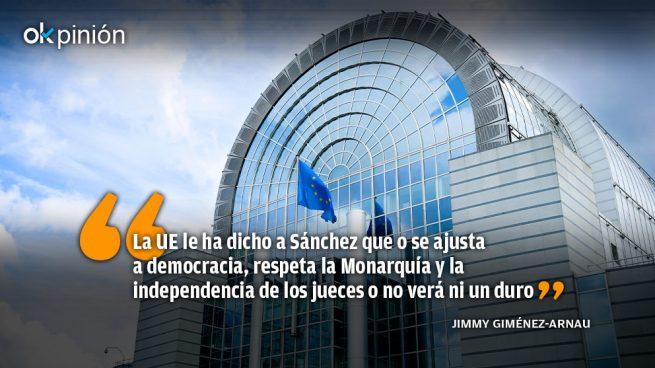 La Unión Europea frena en seco a Sánchez