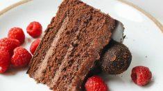 Receta de Nude cake de café y chocolate