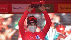 Roglic sigue siendo el líder de la Vuelta a España.
