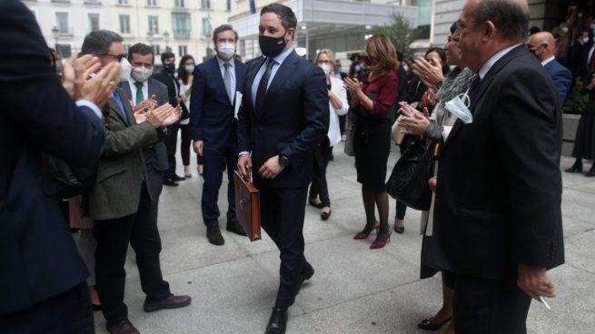 Abascal deja claro que no romperá los acuerdos con el PP: «La agresión de Casado no tendrá respuesta»