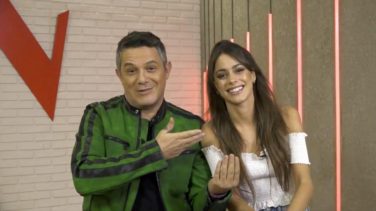 Alejandro Sanz y Tini en 'La Voz'