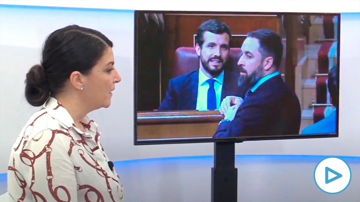 Olona: «Diputados del PP llamaron gilipollas a diputados de Vox y estoy pensando desvelar nombres»