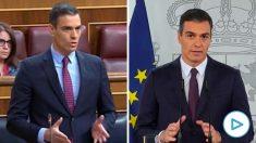 Tres meses desde la «victoria» sobre el virus de Pedro Sánchez al actual «la situación es muy grave».