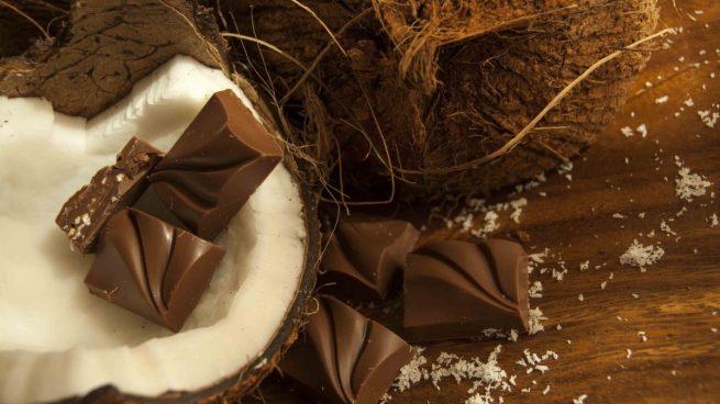 Receta de bombones de chocolate y coco caseros