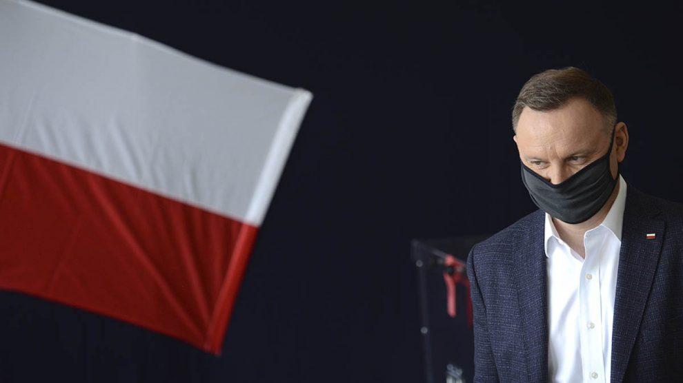 El presidente de Polonia, Andrzej Duda.