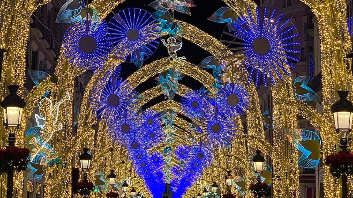 Málaga encenderá sus luces de Navidad el 27 de noviembre 2
