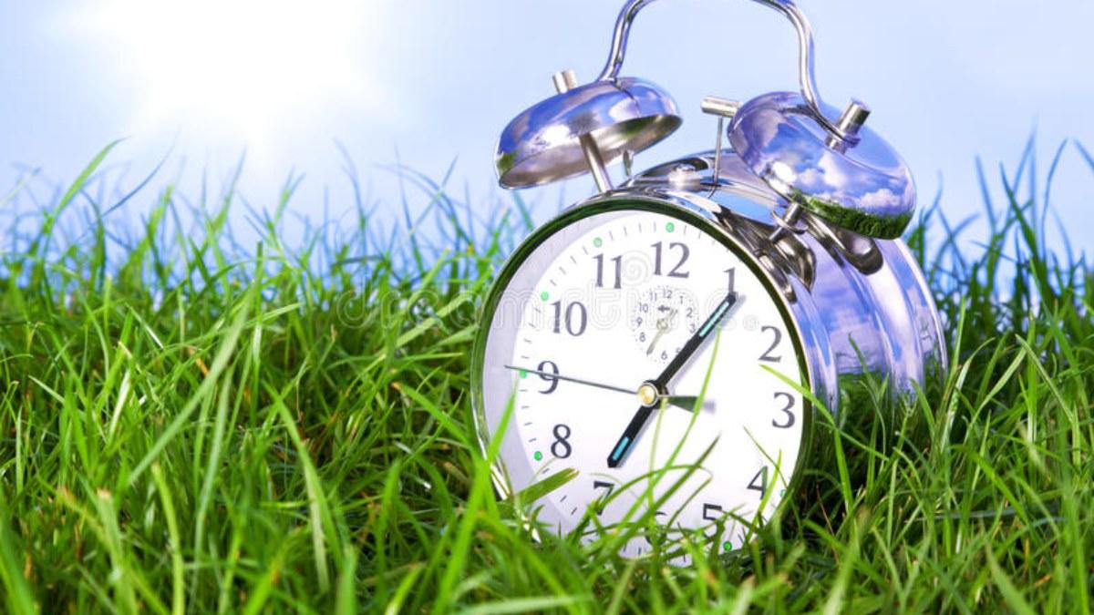 Este sábado es el cambio de hora