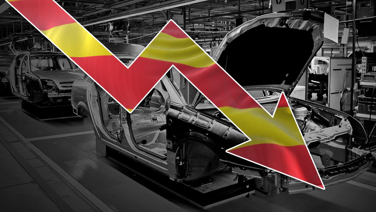 La producción industrial se desplomó un 6,9% en enero y registra su mayor descenso desde junio