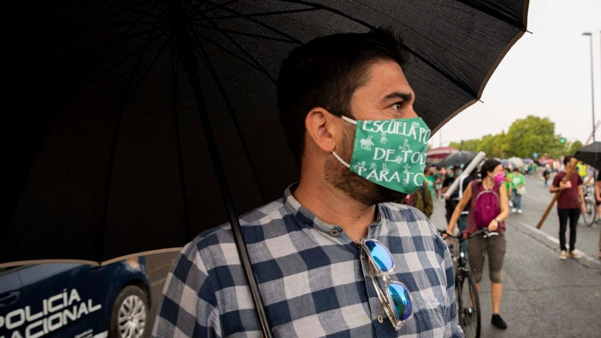 Ismael Sánchez, en el Arias Montano.