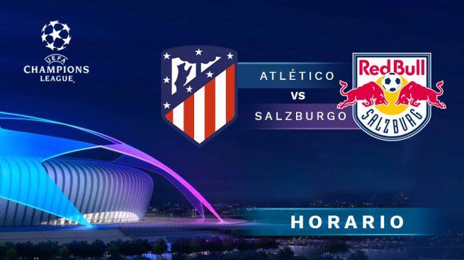 Horario Atlético Salzburgo