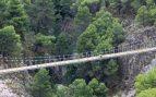 Málaga estrenará uno de los puentes colgantes más largos de España
