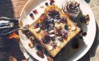 Receta de tostadas francesas con frutos secos y miel