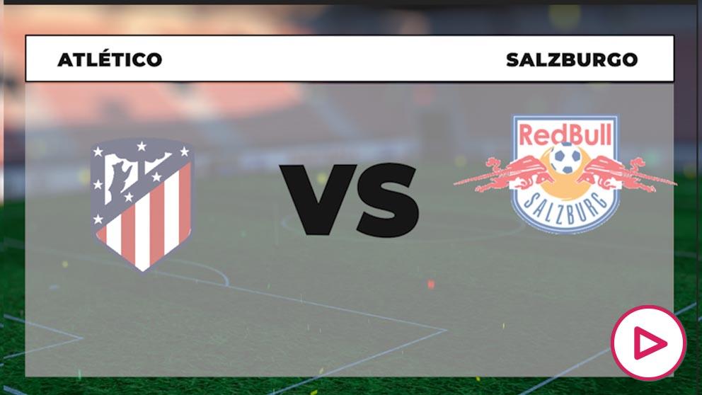 Champions League 2020-2021: Atlético de Madrid – RB Salzburgo  Horario del partido de fútbol de la Champions League.