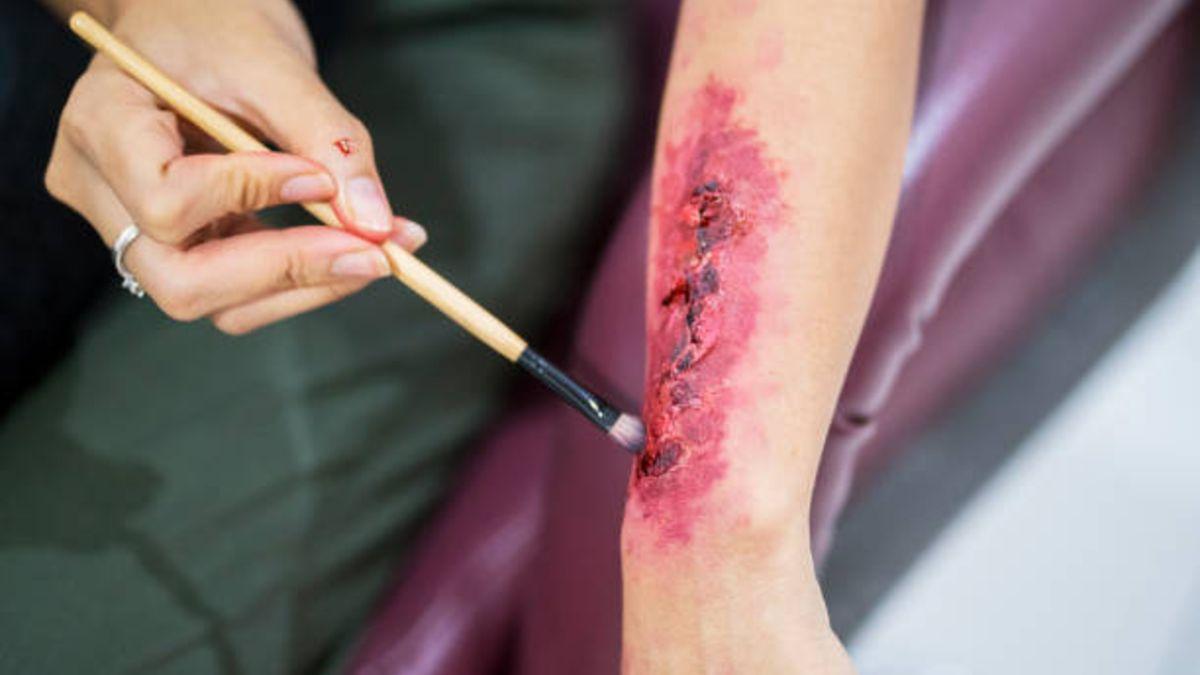Pasos para hacer heridas de Halloween de forma fácil