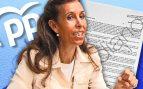 Eva Durán, presidenta del PP de Puente de Vallecas.