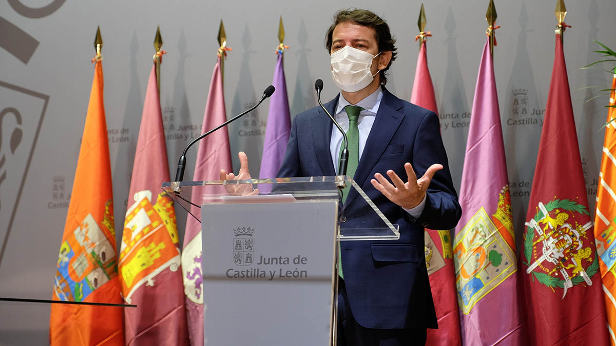 El presidente de Castilla y León, Alfonso Fernández Mañueco.