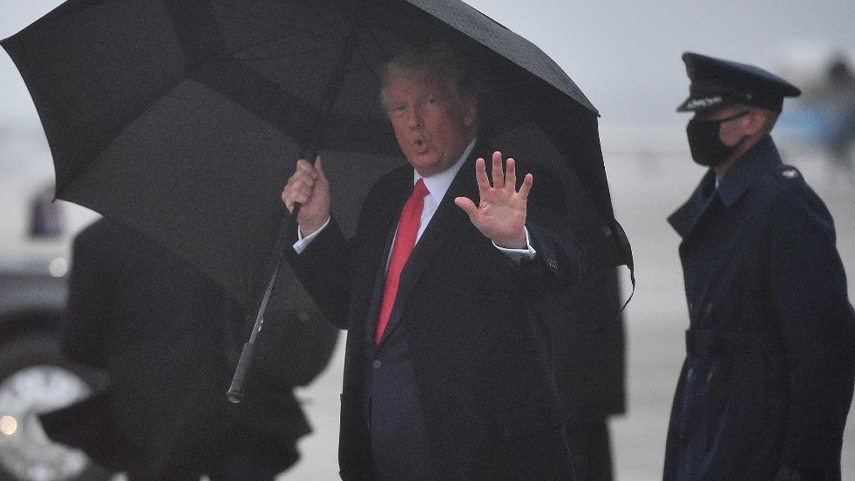Donald Trump, presidente de los Estados Unidos, y candidato republicano a la reelección a la Casa Blanca. Foto: AFP