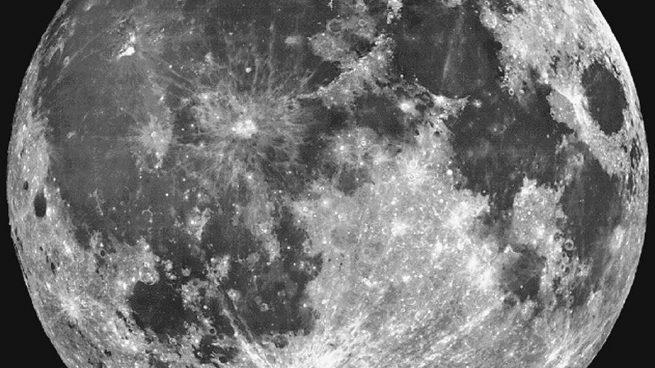 La Luna. Foto: NASA
